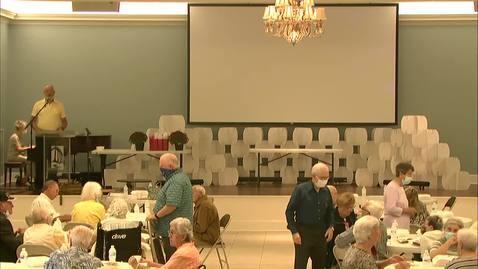 Thumbnail for entry Senior Life - Thursday Gathering - August 27