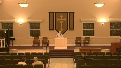 Thumbnail for entry Wednesday Evening Service - November 25