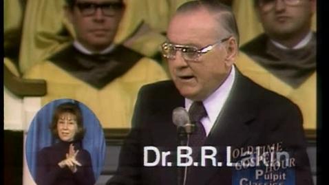 Thumbnail for entry Pulpit Classics - Episode 11 - Dr. B. R. Lakin