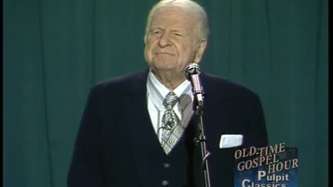 Thumbnail for entry Pulpit Classics - Episode 31 - Dr. W. A. Criswell