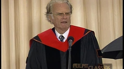 Thumbnail for entry Pulpit Classics - Episode 48 - Billy Graham