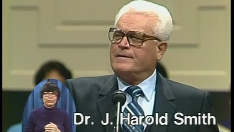 Thumbnail for entry Pulpit Classics - Episode 39 - Dr. J. Harold Smith