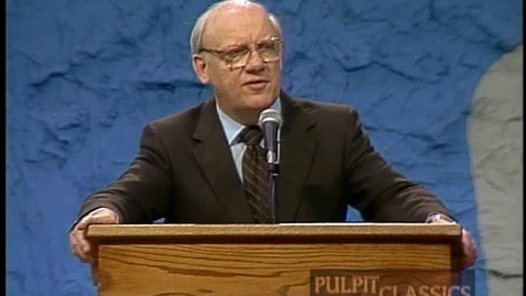 Thumbnail for entry Pulpit Classics - Episode 72 - Dr. Warren Wiersbe