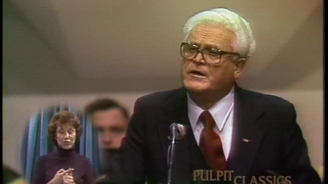 Thumbnail for entry Pulpit Classics - Episode 42 - Dr. J. Harold Smith