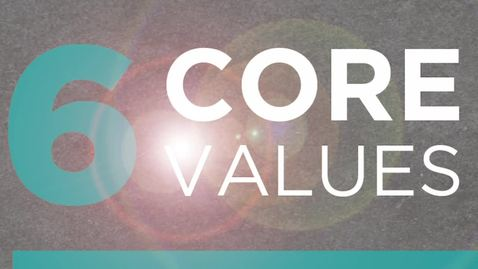 Thumbnail for entry Core Values Connection to Community