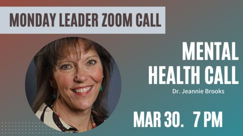Thumbnail for entry Adult Ministries Leader Zoom Call with Dr. Jeanne Brooks