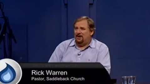Thumbnail for entry Innovate Church - Rick Warren