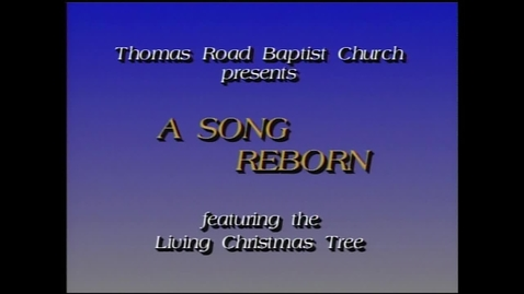 Thumbnail for entry The 1989 Living Christmas Tree - A Song Reborn