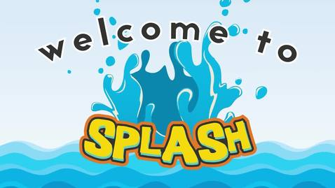 Thumbnail for entry Splash Baptism Class