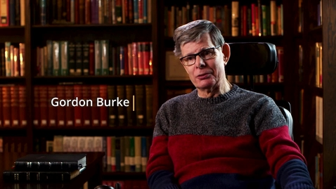 """Thumbnail for entry """"My Road"""" with Gordon Burke"""