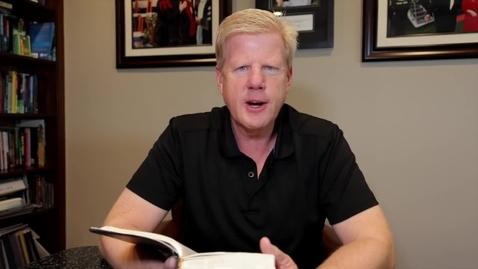 Thumbnail for entry Devotional - Pastor Jonathan - June 16