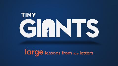Thumbnail for entry Tiny Giants: 3 John - Do What's Right