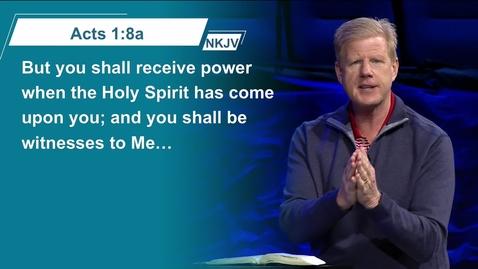 Thumbnail for entry And You Shall... - Pastor Jonathan