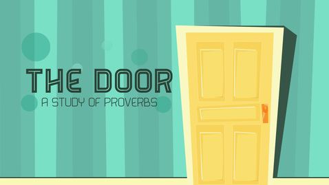 Thumbnail for entry The Door: Wisdom Replaces Anger