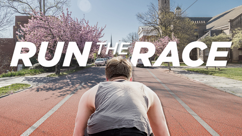 Thumbnail for entry Run The Race: Run it with Heart!