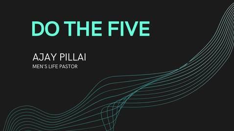 Thumbnail for entry Devotional Ajay Pillai Men's Life Pastor