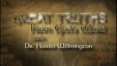 Thumbnail for entry Great Truths - What the Bible Says About Prophecy - Lesson 2 - The Judgment Seat of Christ
