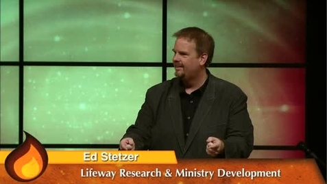Thumbnail for entry Refuel - Ed Stetzer