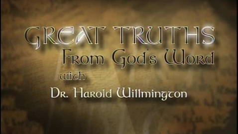 Thumbnail for entry Great Truths - What the Bible Says About Prophecy - Lesson 3 - The Most Wonderful Wedding of the Ages