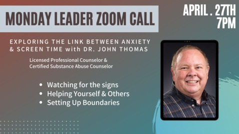 Thumbnail for entry Adult Ministries Leader Zoom Call with John Thomas