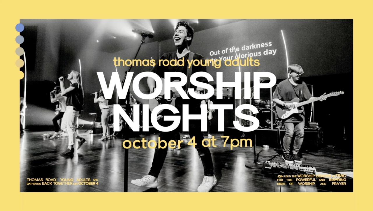 TRYA Worship Nights - October