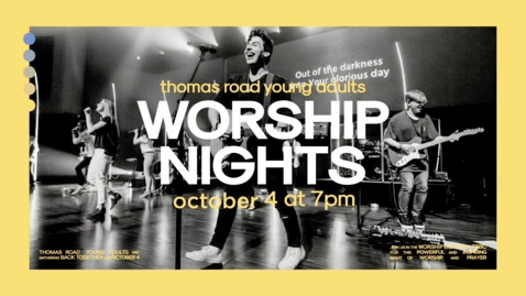 Thumbnail for entry TRYA Worship Nights - October