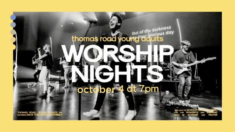 Thumbnail for entry TRYA Worship Nights - October