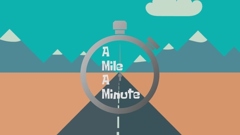 Thumbnail for entry A Mile A Minute Graham