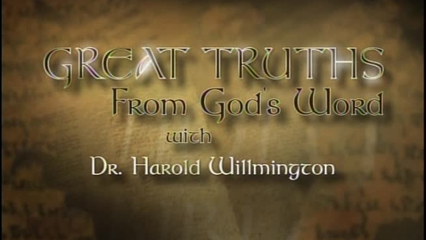 Thumbnail for entry Great Truths - What the Bible Says About Prophecy - Lesson 5 - Chronology of the Tribulation