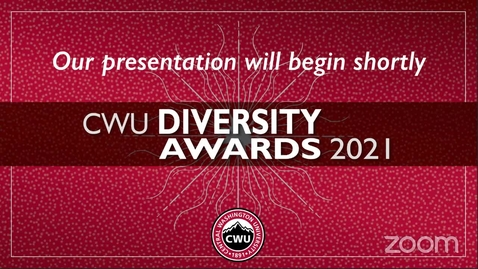 Thumbnail for entry CWU Diversity Awards