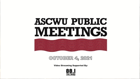 Thumbnail for entry ASCWU Public Meeting 10.4.21