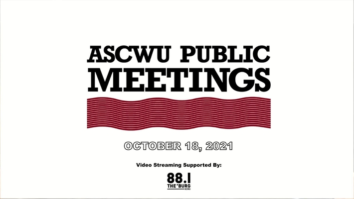 ASCWU Public Meeting 10.19.21