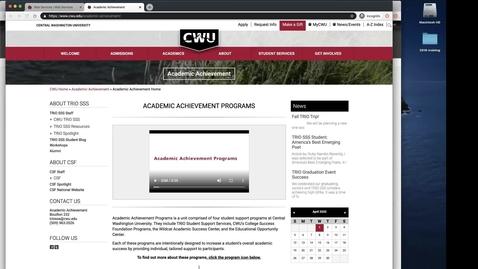Thumbnail for entry Departmental Webform Training