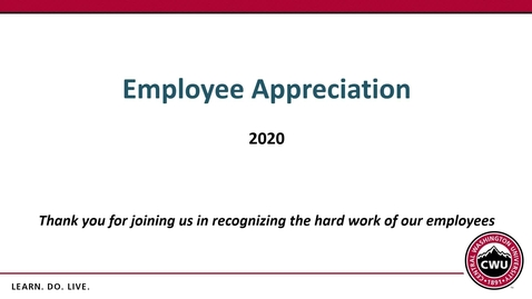 Thumbnail for entry Annual Employee Appreciation Awards 5-Year