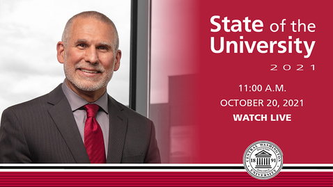 Thumbnail for entry Live Stream: State of the University