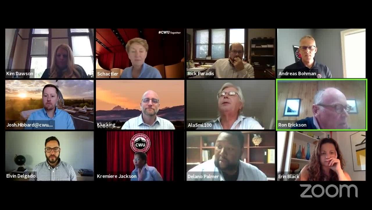 Board of Trustees 8.11.2020 Special Meeting