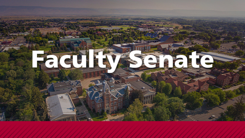Thumbnail for entry Live Stream: Faculty Senate