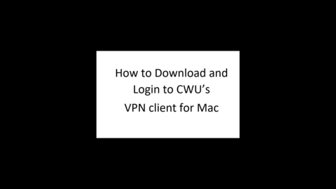 Thumbnail for entry VPN Instructions (Mac)