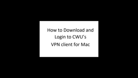 Thumbnail for entry VPN Instructions (Mac)