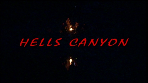 Thumbnail for entry Geography- Hells Canyon Research