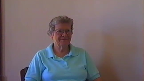 Thumbnail for entry Jane Jones Video Interview