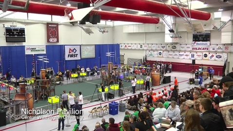 Thumbnail for entry CWU Hosts Robotics Competition