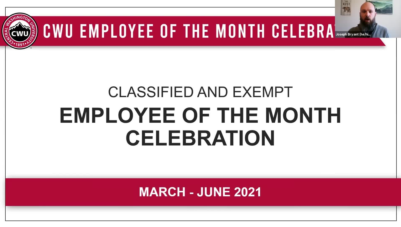 Employee of the Month Spring Celebration