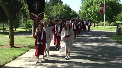 Thumbnail for entry Central Washington University Commencement 2015 AM