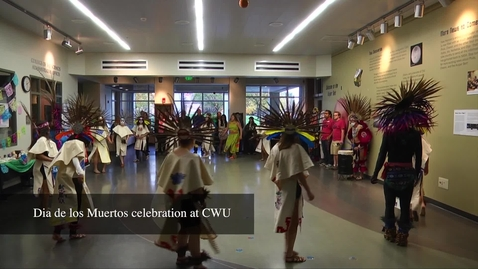 Thumbnail for entry Day of the Dead celebration at CWU