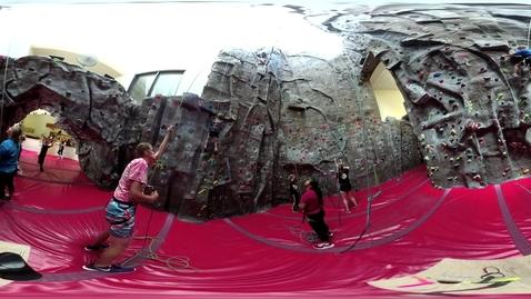 Thumbnail for entry CWU 360 - Climbing Wall