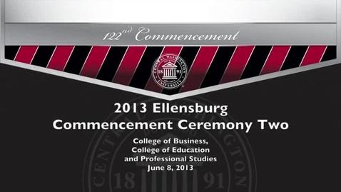 Thumbnail for entry Central Washington University Commencement 2013 PM