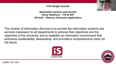 Thumbnail for entry Enterprise Applications Budget Summit Request