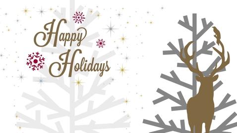 Thumbnail for entry CWU Holiday V- Card