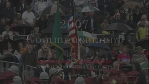 Thumbnail for entry 2007 CWU Commencement Ceremony PM
